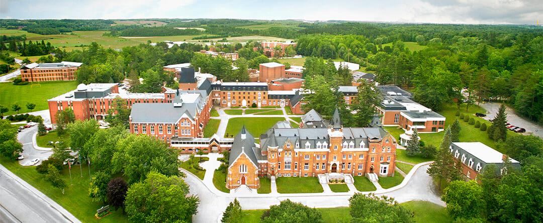 Overview of Bishop's campus