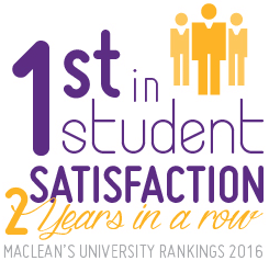 First in student satisfaction