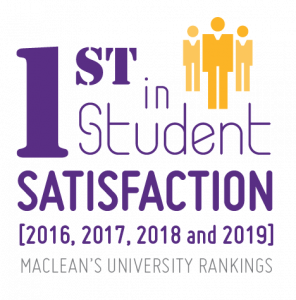 Ranked first in student satisfaction by Maclean's
