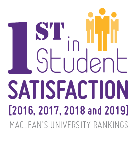Ranked 1st in student satisfaction by Maclean's