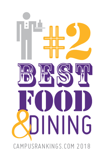 We ranked #2 for best food & dining!