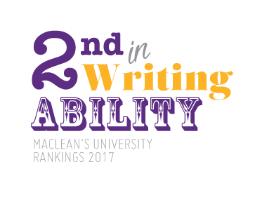 Maclean's rankings: 2nd in writing ability