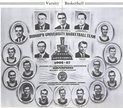 1966-67 Men's Basketball Gaiters