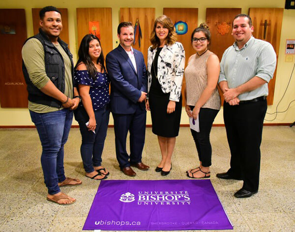 Bishop's University has signed an agreement with the Government of Aruba