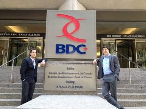 BU Finance Students at BDC