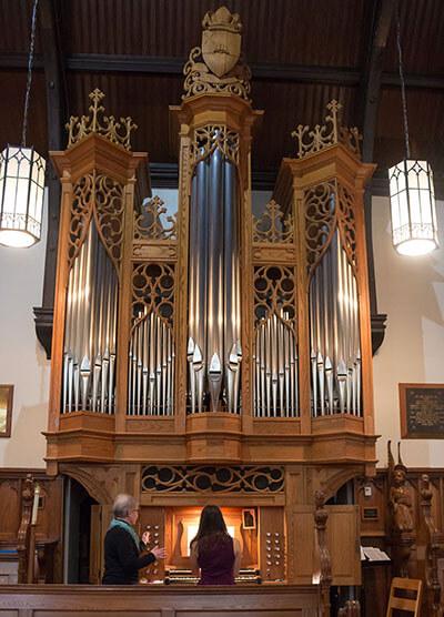 Karl Wilhelm Pipe Organ