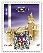Bishop's University stamp
