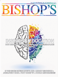 Spring/Summer 2017 edition of the Bishop's Magazine