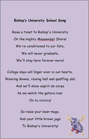 Bishop's School Song
