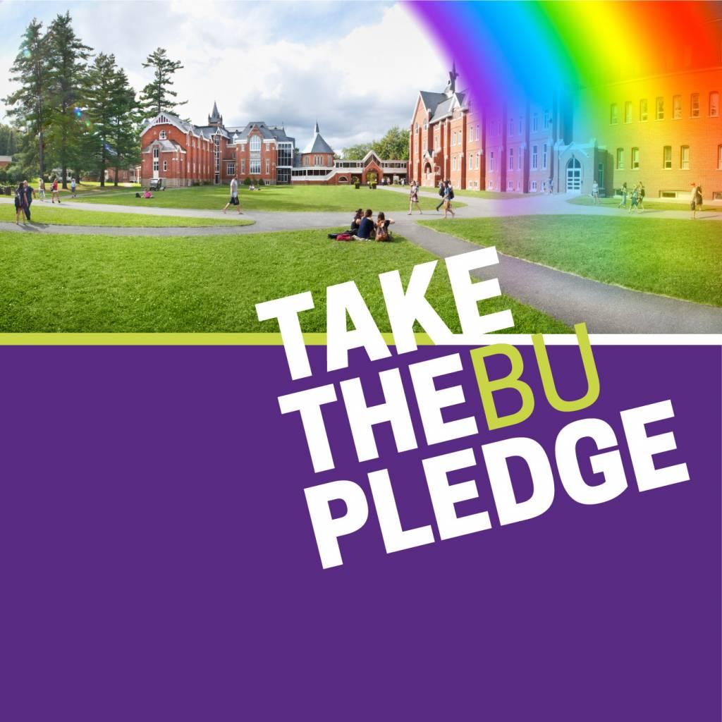 Take the BU Pledge