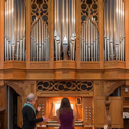 Custom-built tracker organ by Karl Wilhelm
