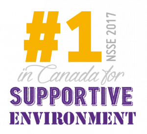 Ranked number one in Canada for supportive environment