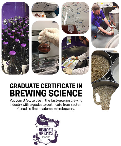 Graduate Certificate in Brewing Science