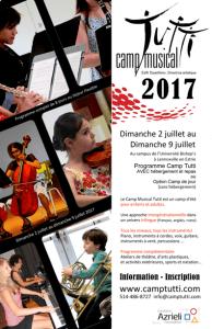 Camp musical Tutti