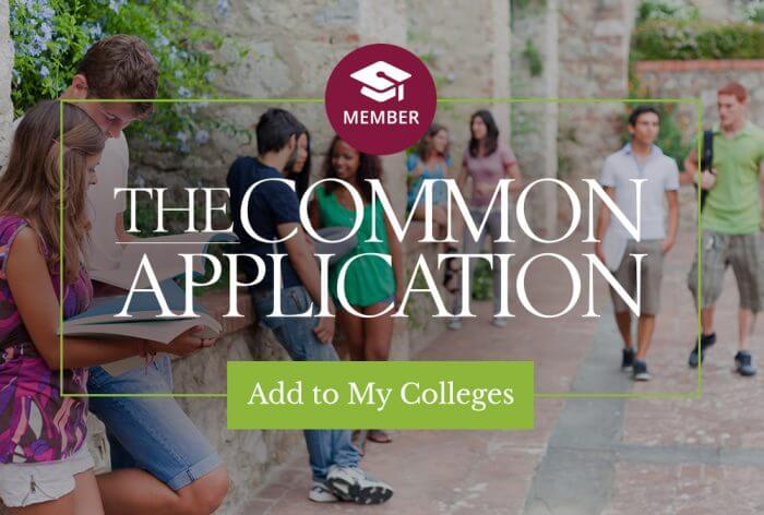 Applying to Bishop's University using the Common Application