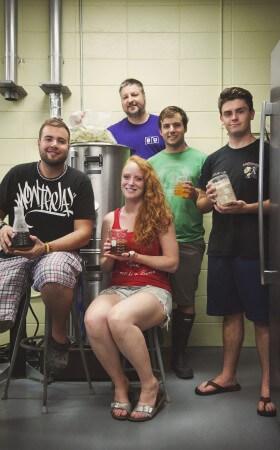 Bishop's students in brewery program