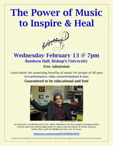 The Power of Music to Inspire & Heal