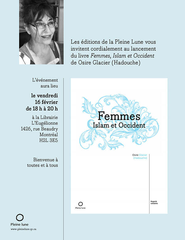 Femmes, Islam et Occident book by Dr. Osire Glacier