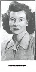 Florence May Foreman