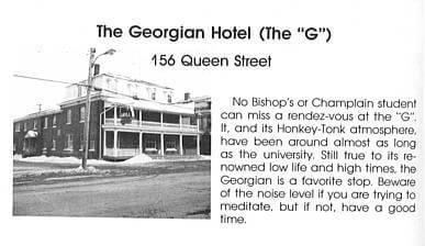The Georgian Hotel 1979