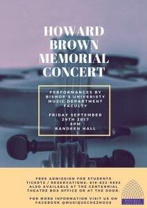 Howard Brown Memorial Concert