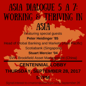 Invitation to Asia Dialogue 2017
