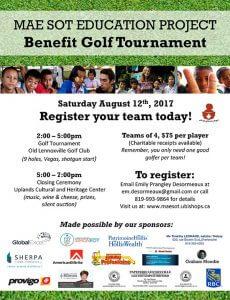 Mae Sot Benefit Golf Tournament