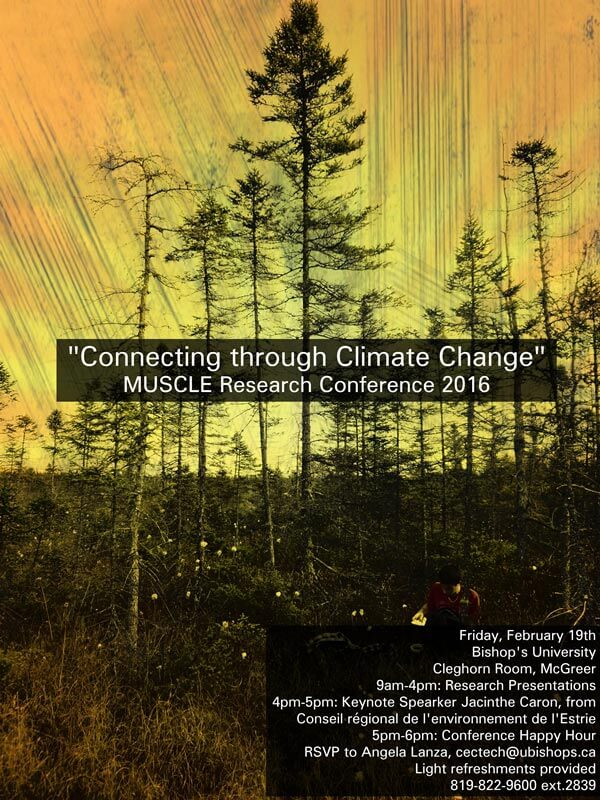 Connecting through Climate Change: MUSCLE Research Conference 2016