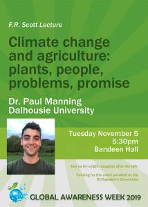 Lecture by Dr. Paul Manning