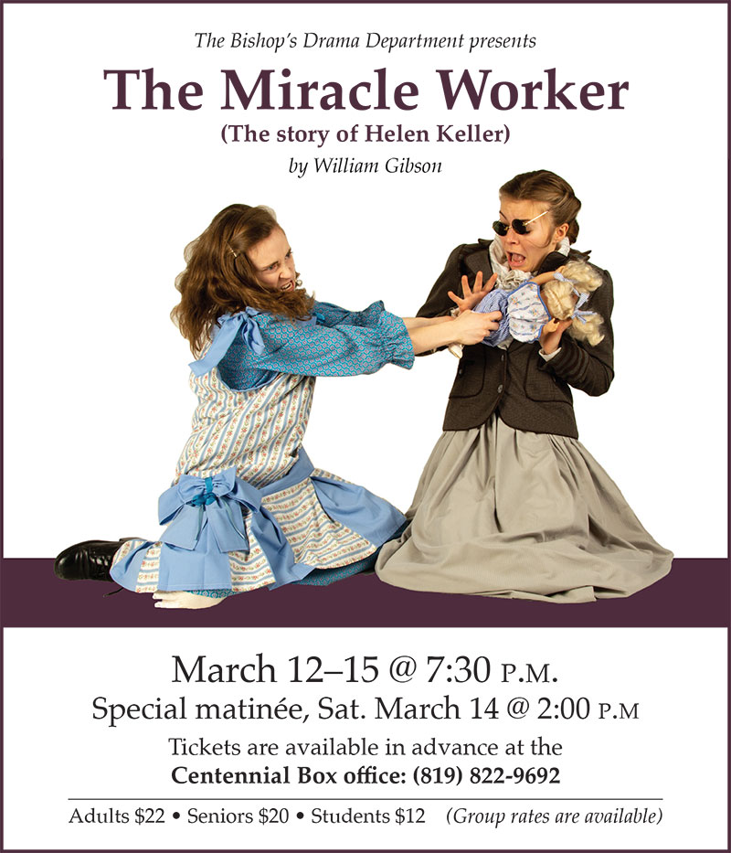 The Miracle Worker drama production