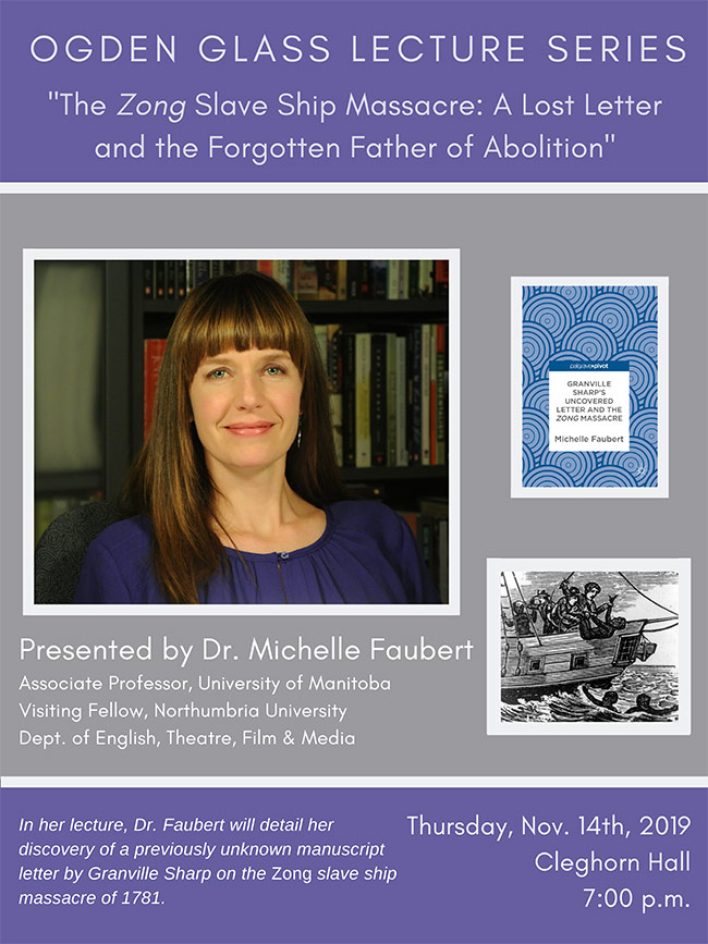 Ogden Glass Lecture by Dr. Michelle Faubert