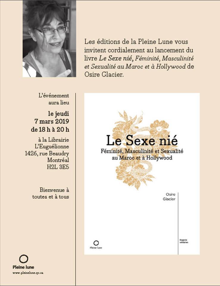 Le Sexe nié by Dr. Osire Glacier