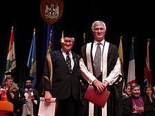 Robert Poupart is officially installed as 17th Principal and Vice-Chancellor