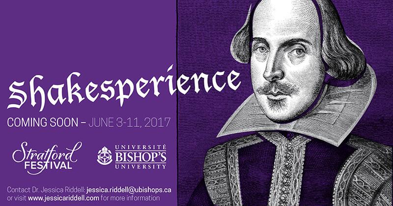 ENG225: Shakesperience June 3-11, 2017
