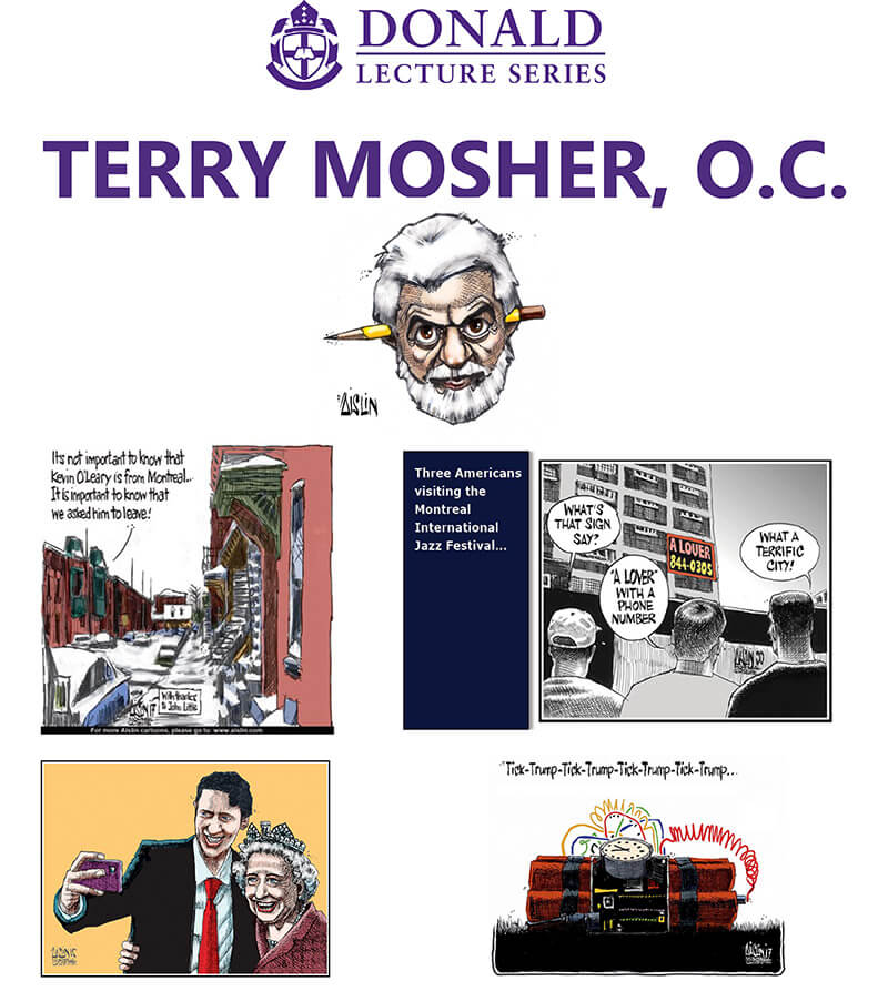 Terry Mosher, O.C. Cartoonist