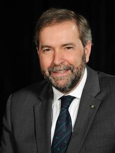 The Honourable Thomas Mulcair