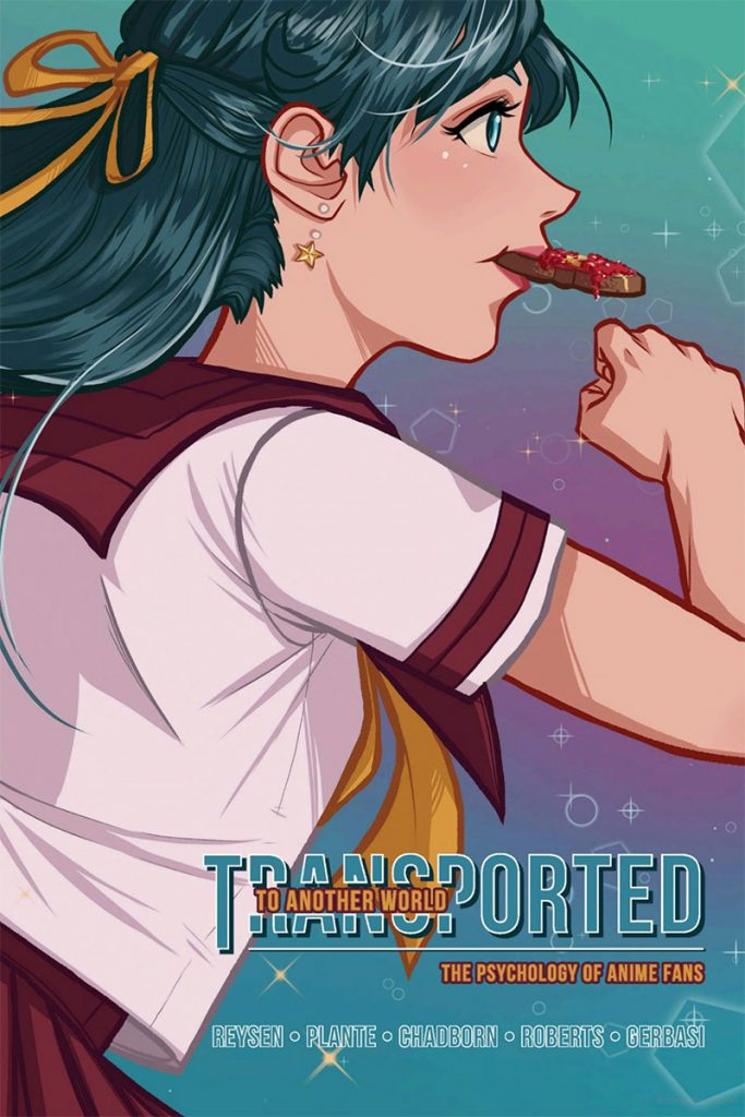 Book cover of Transported to Another World: The Psychology of Anime Fans