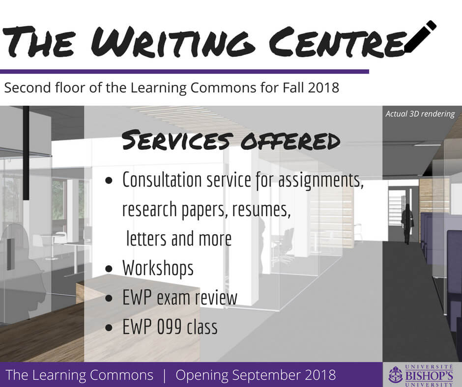 The Writing Centre in the Learning Commons