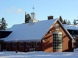 Bandeen Hall in winter