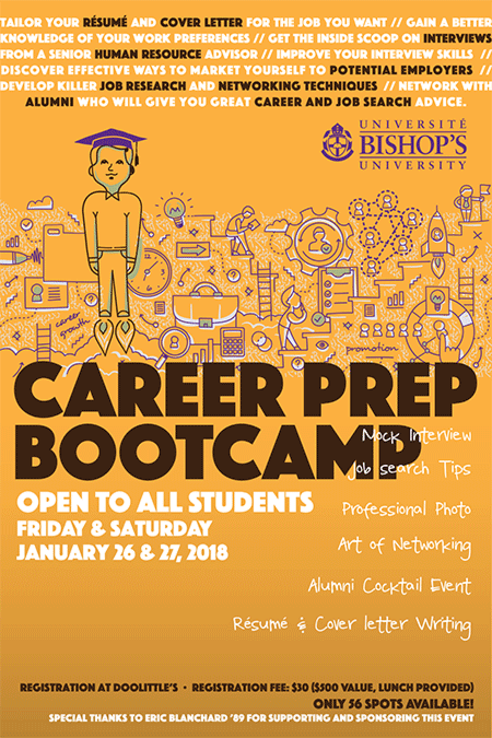 Bishop's Career Bootcamp