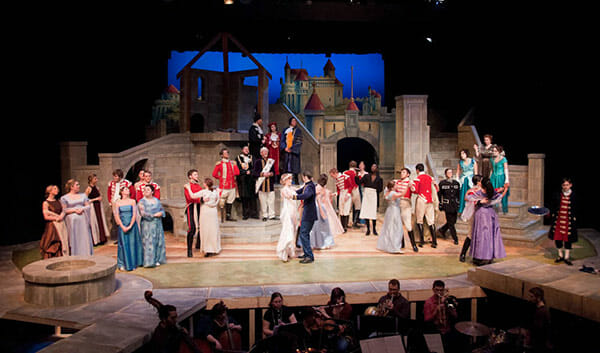 Drama production of Cinderella