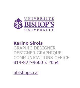 Example of an email signature