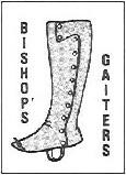 Bishop's Gaiters