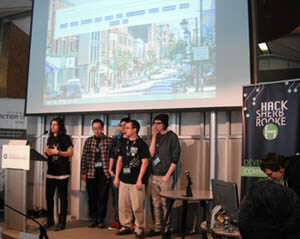Students at Hack Sherbrooke