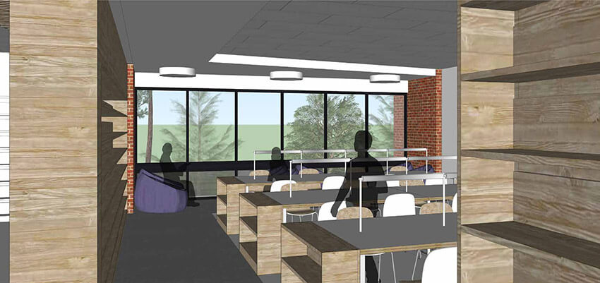 Learning Commons interior