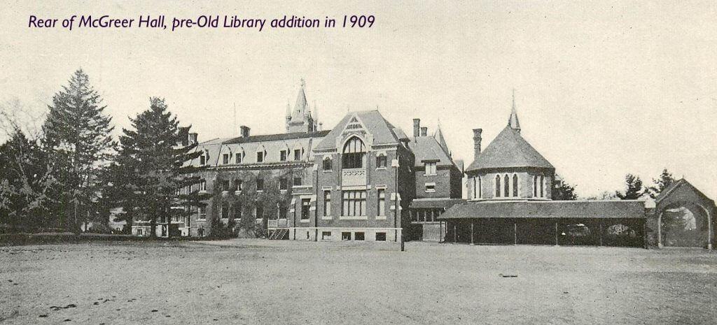 McGreer Hall, 1909