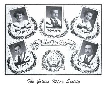 Golden Mitre Award was established in 1951