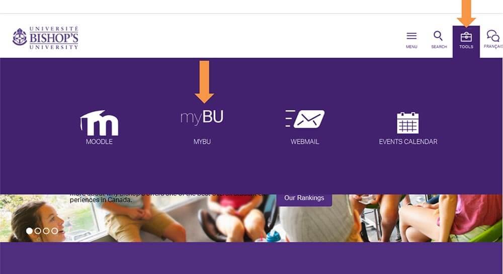 How to login to myBU