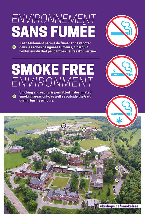 Map of Smoke Free Environment