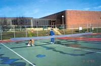 Sesqui tennis match